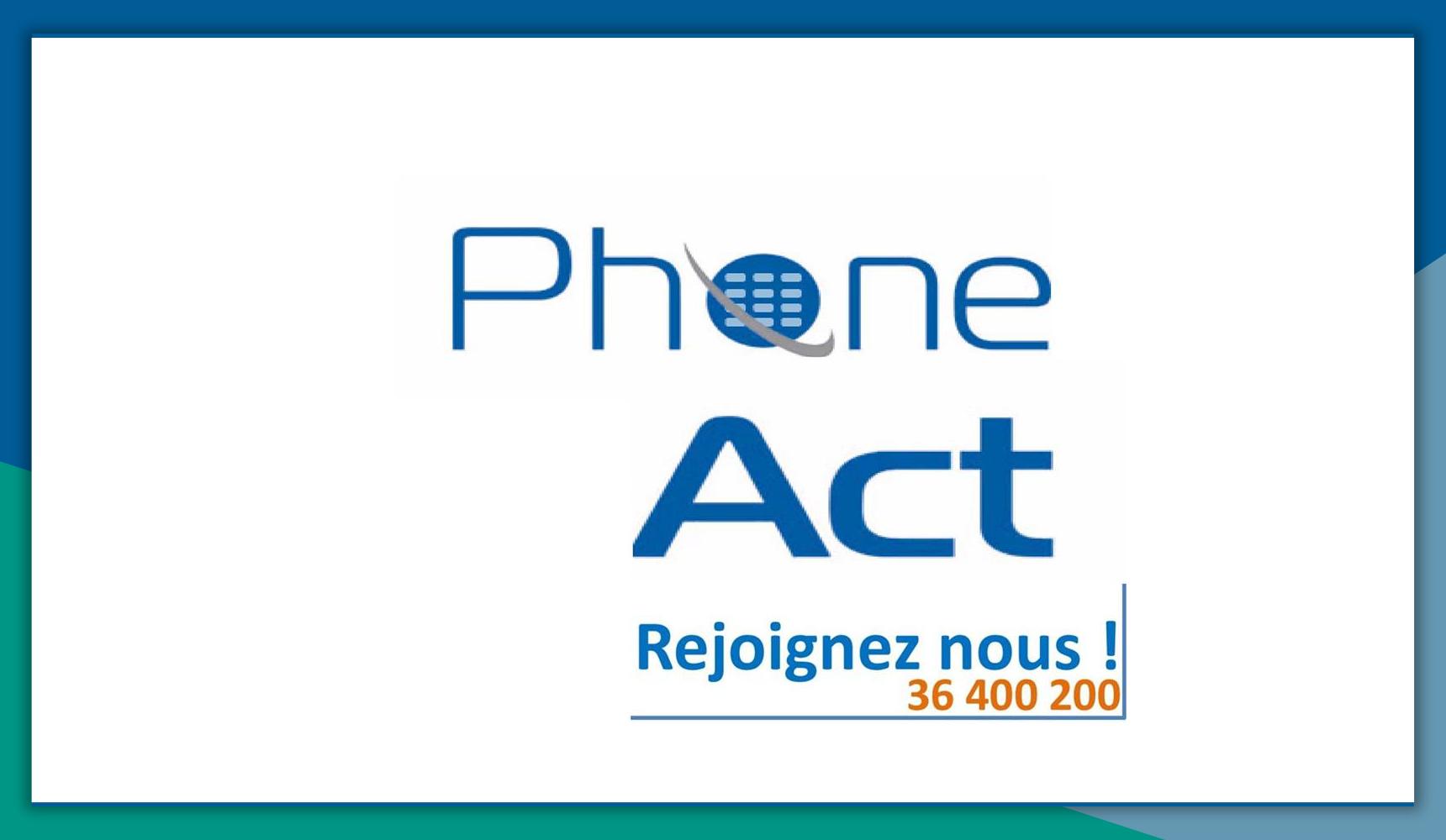 PhoneAct recrute Chargé de recouvrement