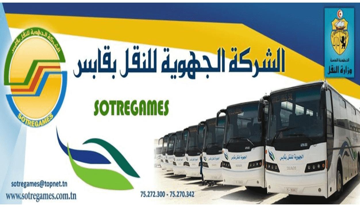 Concours Société Régionale de Transport de Gabès